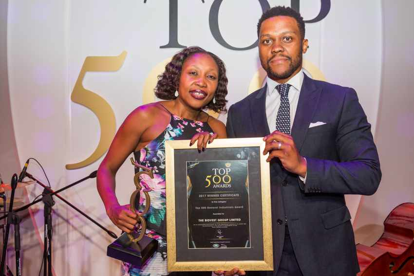 Top 500 Best Managed Company in General Industries Award