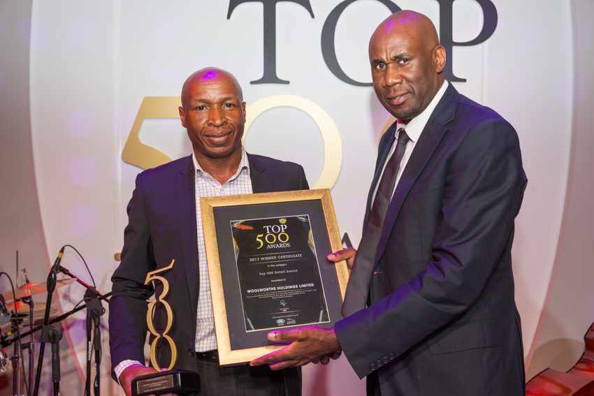 Top 500 Best Managed Company in Retail Award