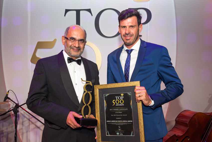 Top 500 Best Managed Company in Resources Award