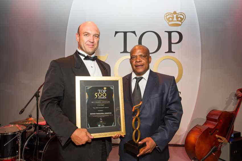 Top 500 Best Managed Company in Transport Award