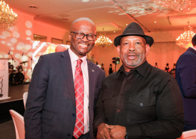 Mr Dondo Mogajane and Dr Jabu Mabuza