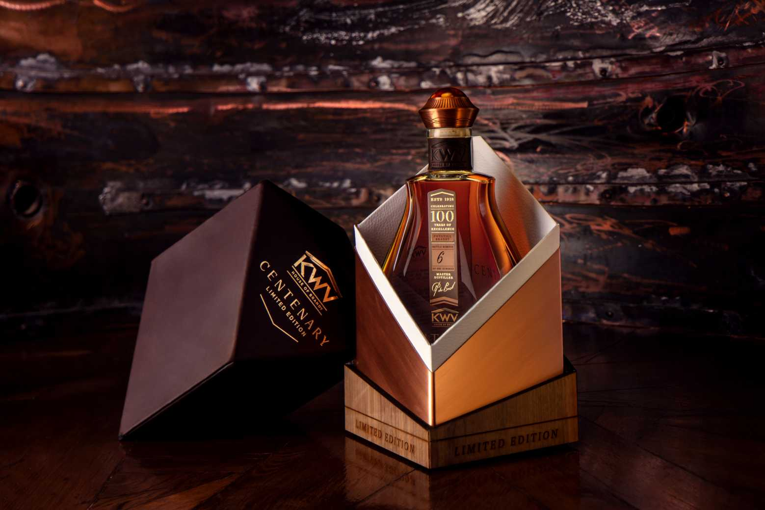Lifestyle: KWV launches SA's most exclusive brandy