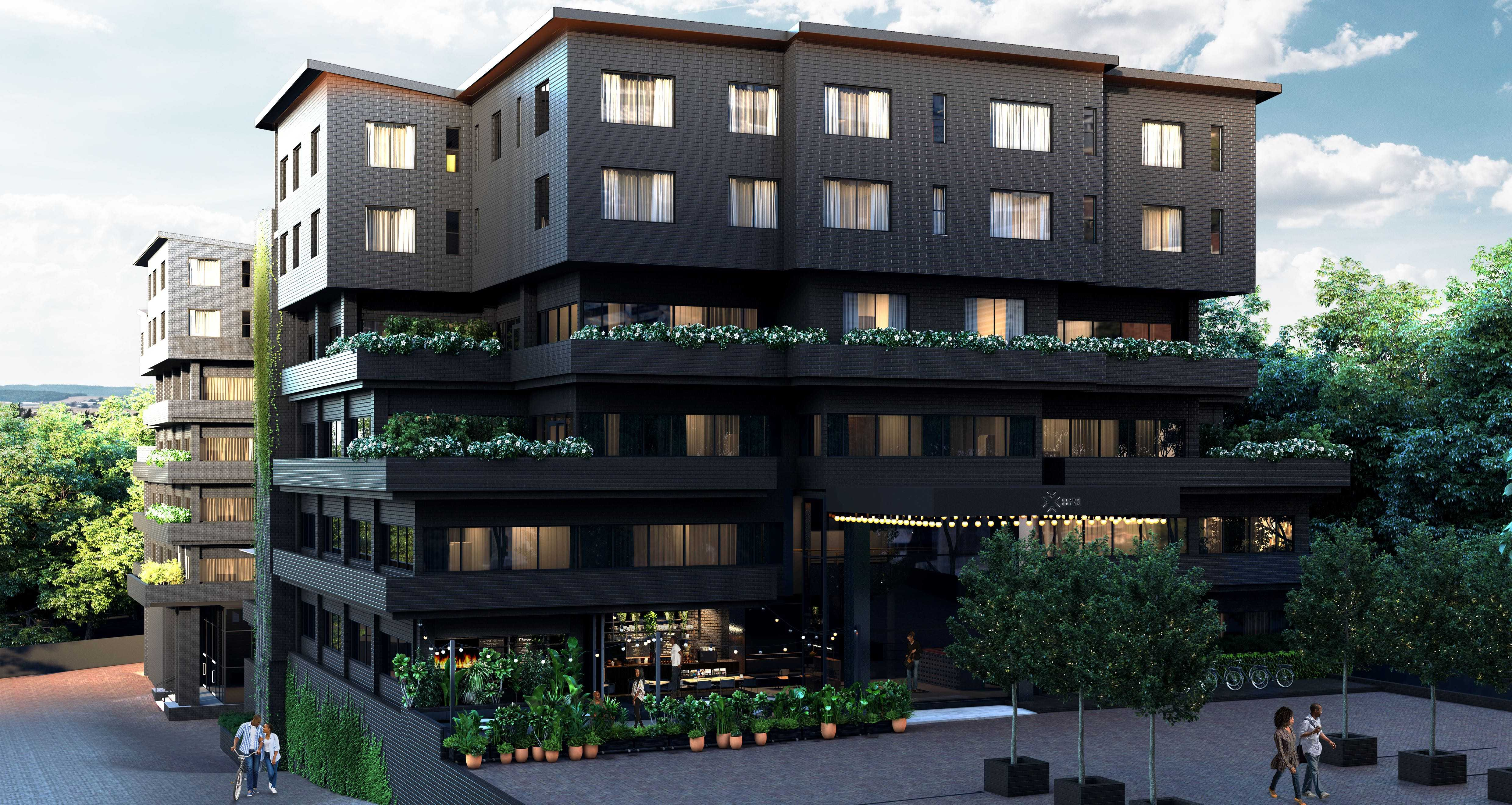 BlackBrick launches the first residential conversion in the Sandton CBD