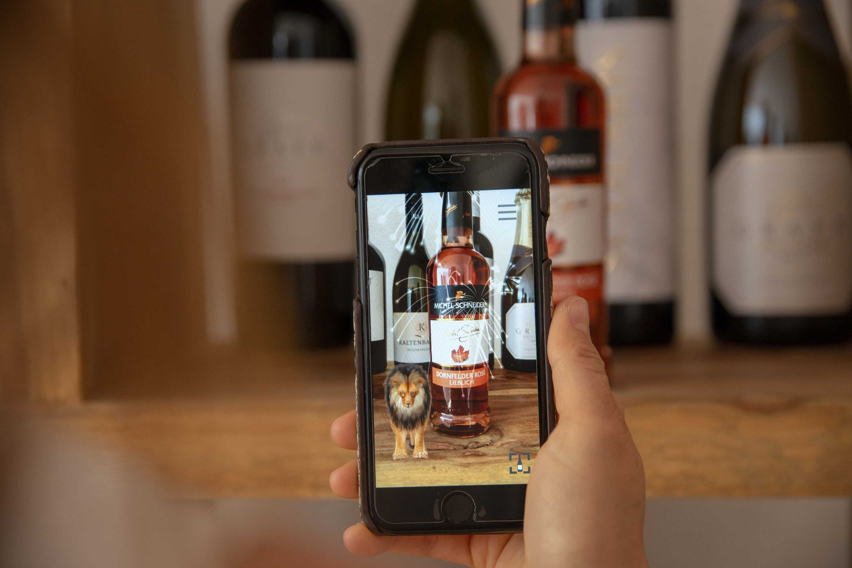 Disrupting traditional wine marketing: one augmented reality label at a time